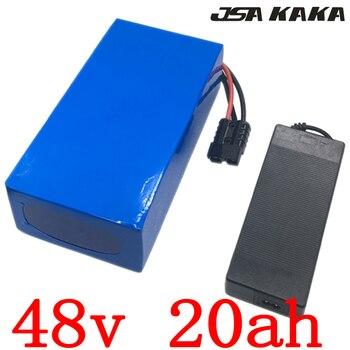 48V батарея 48v 20ah литий-ионный аккумулятор 48V 20AH 52V 20AH батарея электрического велосипеда для 48V 1000W 1500W 2000W ebike мотор Бесплатная доставка