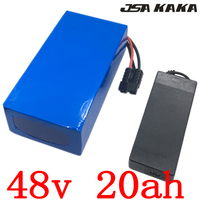 48V battery 48v 20ah Lithium ion battery 48V 20AH 52V 20AH electric bike battery for 48V 1000W 1500W 2000W ebike motor free duty