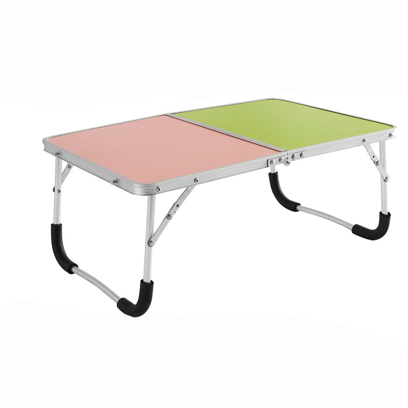 Aluminum Alloy Folding Table Computer Confinement Eat Children Play Multi-Function Simple Storage Students Bedroom Outdoor Desk