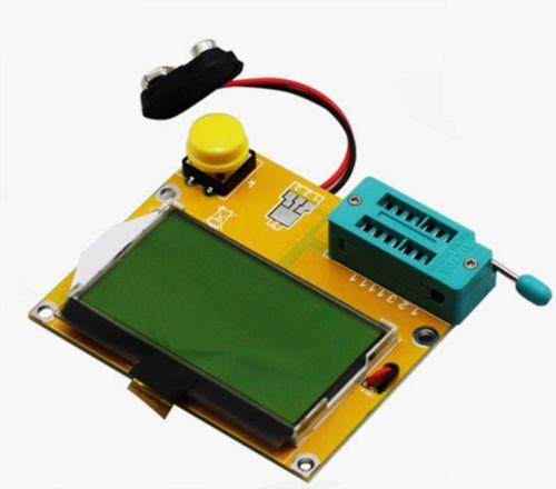 M328 LCR-T4 Mega328 ESR Mètre LCR led Transistor Testeur de Diodes Triode Capacité MOS PNP NPN 12864 Module D'affichage