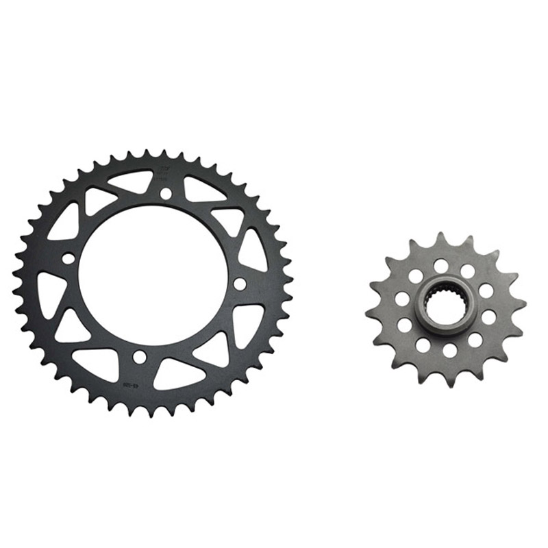 LOPOR Motorcycle Front Rear Sprocket Kit Set for Yamaha XT600 1987 1995 XTZ660 1991 1998