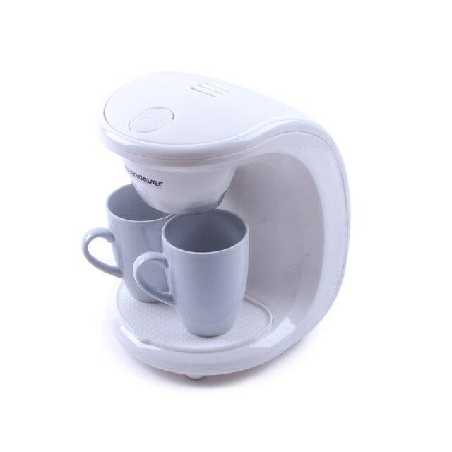 Кофеварка Endever Costa-1040 (Мощность 550 Вт, подача 2 чашек кофе одновременно, нейлоновый фильтр, 2 фарфоровые чашки, капельная)