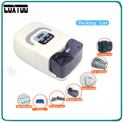 COXTOD GI CPAP Machine For Anti Snoring Personal Care And Health & Beauty accessories Face Nasal Mask Humidifier Hose Filter Bag coxtod gi cpap machine with mask with sd card filter carry bag cpap machine
