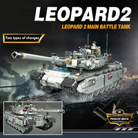 2018 Military Tank Model Building Blocks Compatible With LegoINGly Technic Army WW2 Weapon Set Helicopter Train Toy Boy DIY Gift