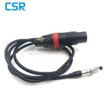 NEWARRI ALEXA мини камеры аудио кабель, ARRI ALEXA мини аудио кабель, LEMO FHG.00B 5 контактный разъем для Женский XLR Разъем 3 pin