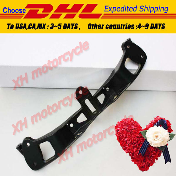 Aftermarket free shipping motorcycle parts Cowling Front upper fairing stay bracket for  Kawasaki  ZX 636 2005 2006 2007 2008