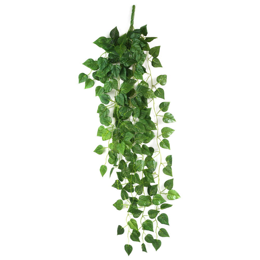 Green Artificial Fake Hanging Vine Plant Leaves Garland Home Garden Wall Decoration Supplies 90x 4 cm