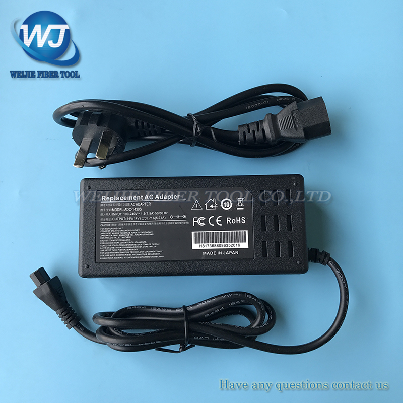 T71C T81C T-Z1C T600C T-400S Type-81c Type-71c TYPE-Q101-CA/CA+ Optical Fiber Fusion Splicer Power Adapter charger ADC-1430