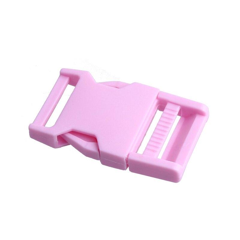 Лямки швейные инструменты собачьи ремни пряжки двойные регулируемые Крючки для рюкзака Высокое качество 1 шт. 25 мм популярная пластиковая пряжка безопасности