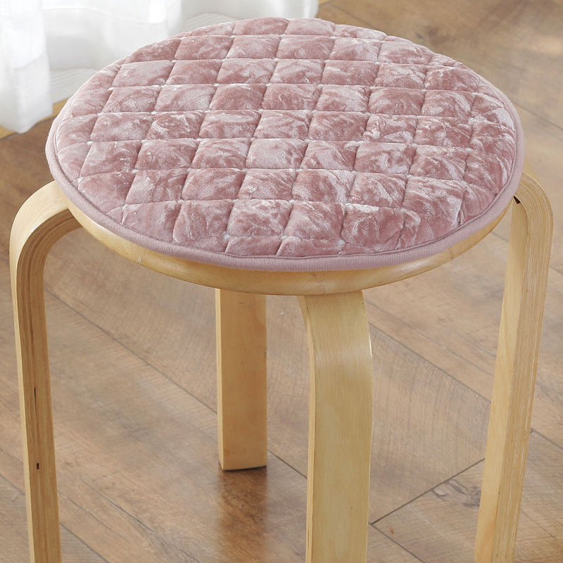 Foam Back Cushion Modern Style Fluffy Throw Pillow Dinning Stool Cushion Non-slip Chair Cushions Bolster Buttocks Tie On The Pad
