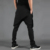 Primavera e verão masculino calças culottes hipotenusa assimétrico personalizado solto harem pants calças masculinas preto