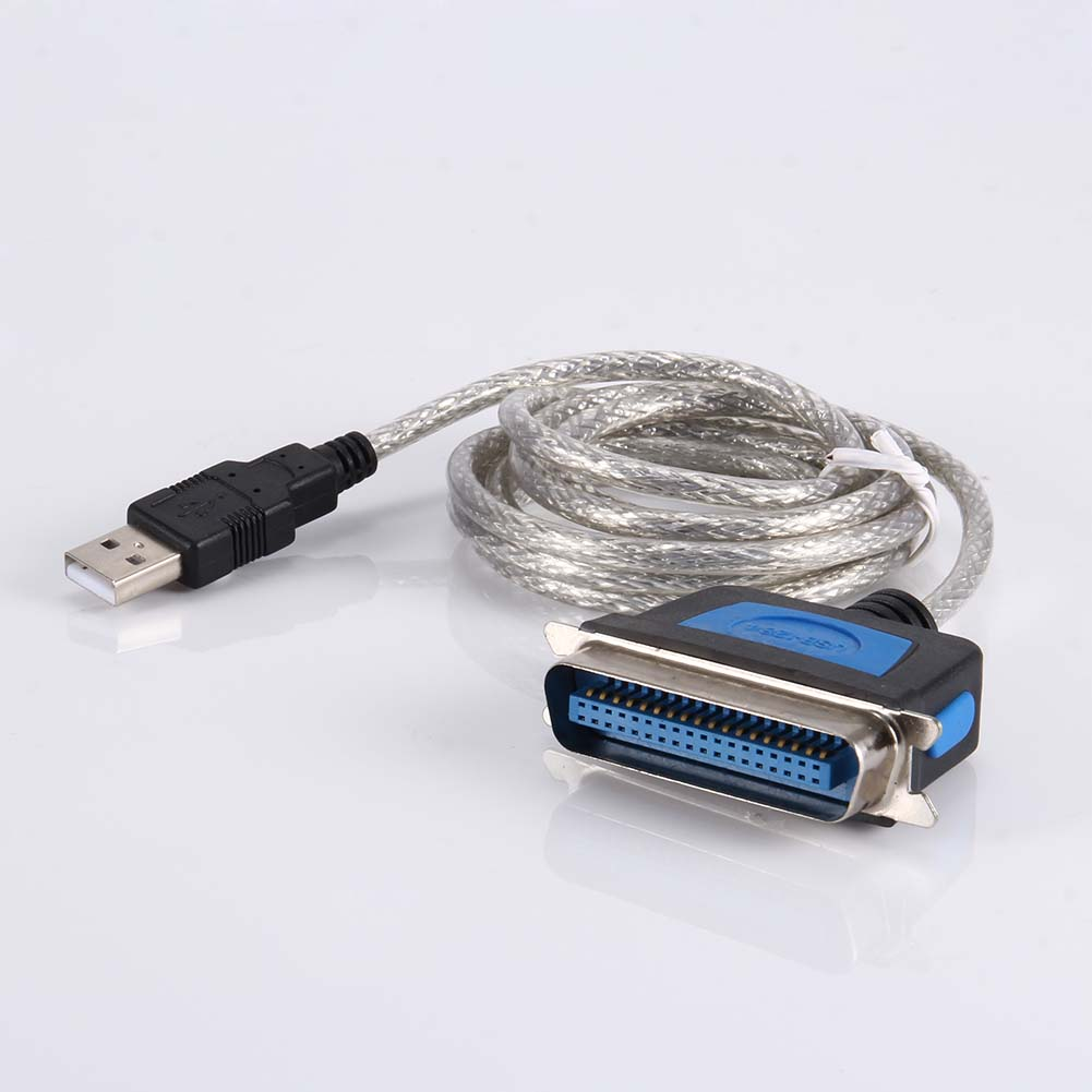 USB 2.0 to Parallel IEEE 1284 CN36 Cable Converter Adapter Printer Lead 0.9M