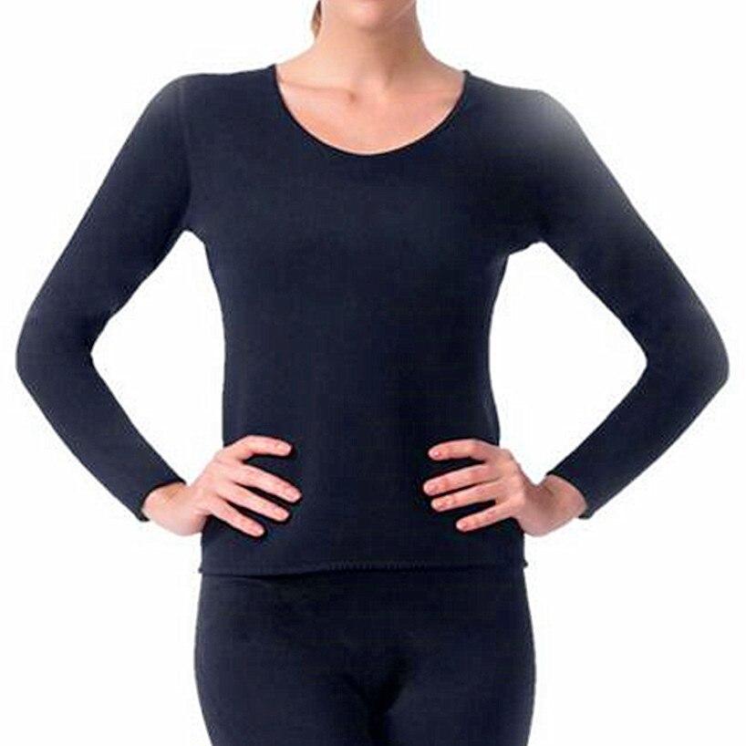 Womens Long-sleeved Shirt Fat Shapers Waist-Trimmer Slimming Shirt Body Shaper Weight Loss Corset Neoprene Stretchy Control Tops