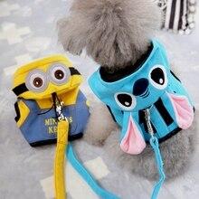 Pretty, soft sphynx cat harness / vest