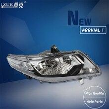Zuk Фирменная Новинка Высокое качество левый и правый передняя фара Глава свет лампы для Honda City 2009 2010 2011 GM2 gm3 головы лампа