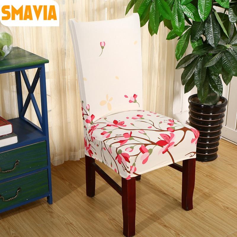 Smavia Modern Spandex Elastic Dining Chair Slipcover