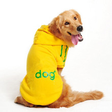 Free shipping Big Dog Clothes  Large Size Winter Dogs coat Hoodie Apparel Clothing Size:3XL-9XL