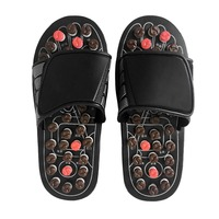 Foot Massage Slippers Health Care Shoes Reflexology Massage Sandals Elderly Feet Health Care Product Pebble Stone