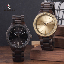 Men Watches Male BOBO BIRD Wooden Metal Quartz relogio masculino erkek kol saati Wristwatches Man in Gift Box все цены