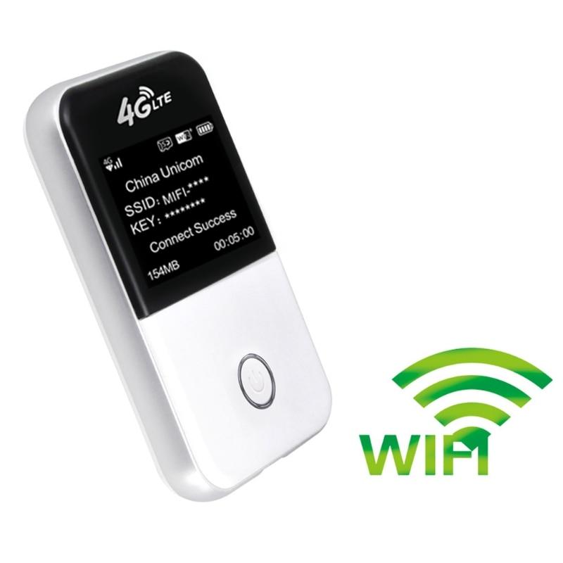 4g Wifi Routeur 3g 4g Lte Portable Sans Fil Hotspot Sim Slot avec Affichage MF825s