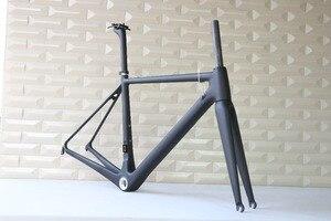 Image 2 - T1000 carbon frame Full Carbon Fiber Frame,Size, 48,50,52,54,56 58 and 60cm Carbon Road Bike Frame FM066