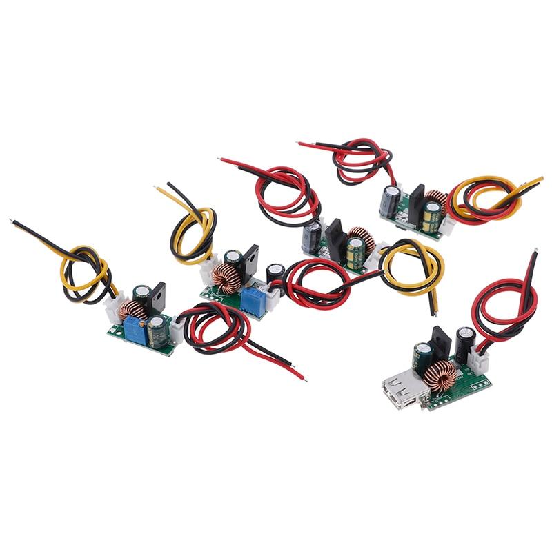 DC-DC Step-down Converter 120V 96V 84V 72V 60v 48v 36v To 5V 12v 24v USB Power With CableDC-DC Step-down Converter 120V 96V 84V 72V 60v 48v 36v To 5V 12v 24v USB Power With Cable
