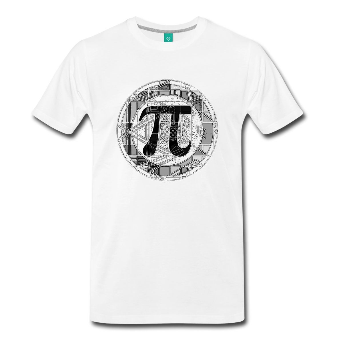 Pi Day Symbol Geometric Mens Premium T-Shirt Brand Clothes Summer 2018