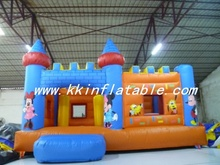 princess inflatable bouncer combination, inflatable castle bouncer