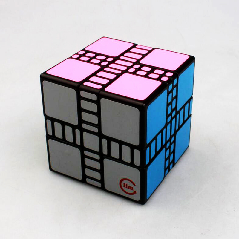 Funs Mixup Strange Shape Brain Teaser Magic Cube Stress Reliever Speed Square Educational Puzzle Cube Game Toys for Children Boy yj yongjun moyu yuhu megaminx magic cube speed puzzle cubes kids toys educational toy