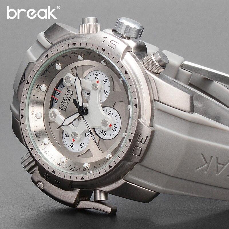 Top Brand Luxury Multifunction Waterproof Sports Watches Clock Men's Quartz Watch Male Military Wrist Watch Relogio Masculino