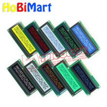 HoBiMart 1*1602A LCD Module 16x2 Character Display Black screen white character Backlight Module high Quality Brand New #LR22-a