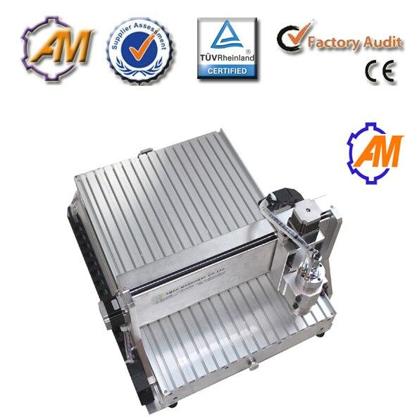 AMAN 6040 1,5 kW vízhűtéses orsó CNC gravírozó gép mini cnc - Famegmunkáló berendezések - Fénykép 2