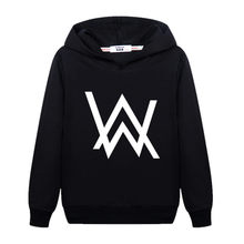 Mode DJ Master Boy Sweatshirt Alan Walker Kinder Hoodie Teen BoysCotton Langarm Pullover Kid AW Gedruckt Kleidung Mäntel(China)