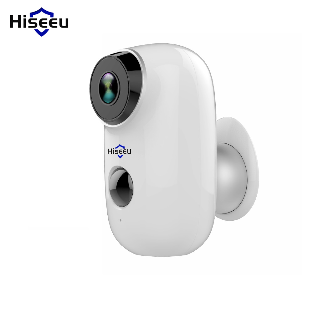 Hiseeu C10 Wireless IP Camera Rechargeable Battery CCTV Security Camera PIR Waterproof Motion Detect App View Security|Surveillance Cameras| |  - title=
