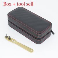 Special for luxury brand fashion EU USA global watch case box organizer box+tool open watch case retail wholesale new group sell