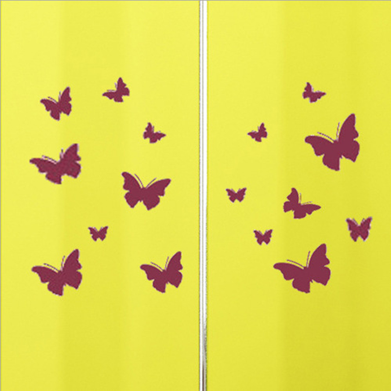 Fine Decorative Wall Butterflies Motif - All About Wallart ...