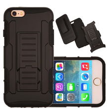 For iPhone 6 Case Rugged Impact Belt Clip Holster Cover for iPhone 6 Plus Shockproof Kickstand PhoneCases for iPhone 6s 5s 6Plus(China)