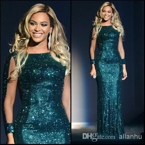 Free Shipping New Hot&sexy 2018 Green Glittery Sequined Special Occasion Vestidos Party Prom Gown Mother Of The Bride Dresses