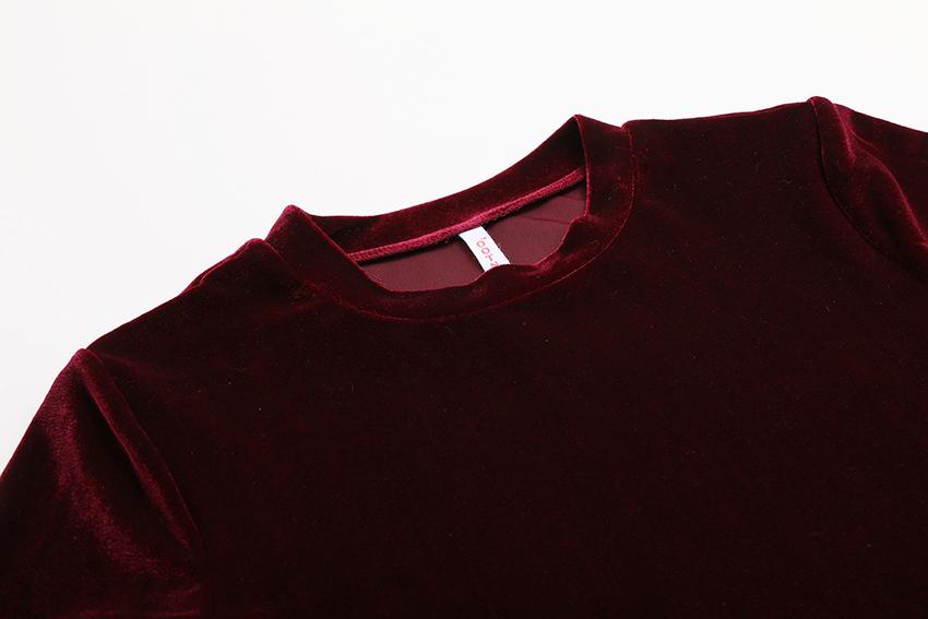 HTB1hts1RXXXXXaBXpXXq6xXFXXXS - Summer Tops Short Sleeve Cotton Velvet T Shirt Women