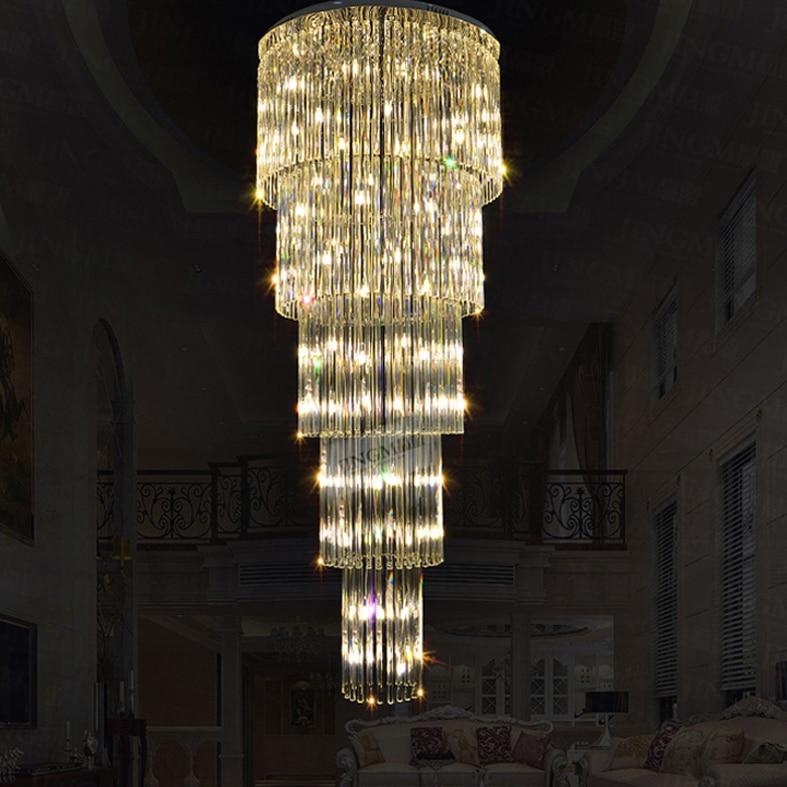 Crystal ջահ LED ժամանակակից ջահերի - Ներքին լուսավորություն - Լուսանկար 4