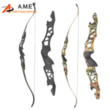 64 F166 Archery Takedown Recurve Bow Set 30-60lbs Black Camo Right Hand Outdoor Shooting Practice Hunting Archery Accessories