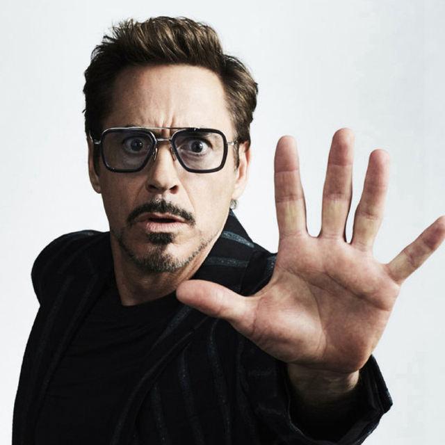 2020 Hot Fashion Luxury Avengers Tony Stark Flight Style Sunglasses Men Square Brand Design Sun Glasses