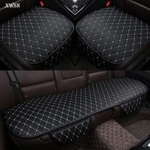 Универсальная подушка для сиденья автомобиля из искусственной кожи для mitsubishi pajero 4 2 sport outlander xl asx аксессуары lancer чехол для автокресла