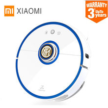Xiaomi S52 Mi Roborock Vacuum Cleaning Sweeping Robot Centennial Inter Milan Custom Edition with Football Star Voice Package(China)