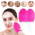 Mini Electric Facial Cleaning Massage Brush Washing Machine Waterproof Silicone Face Skin Care Cleanser