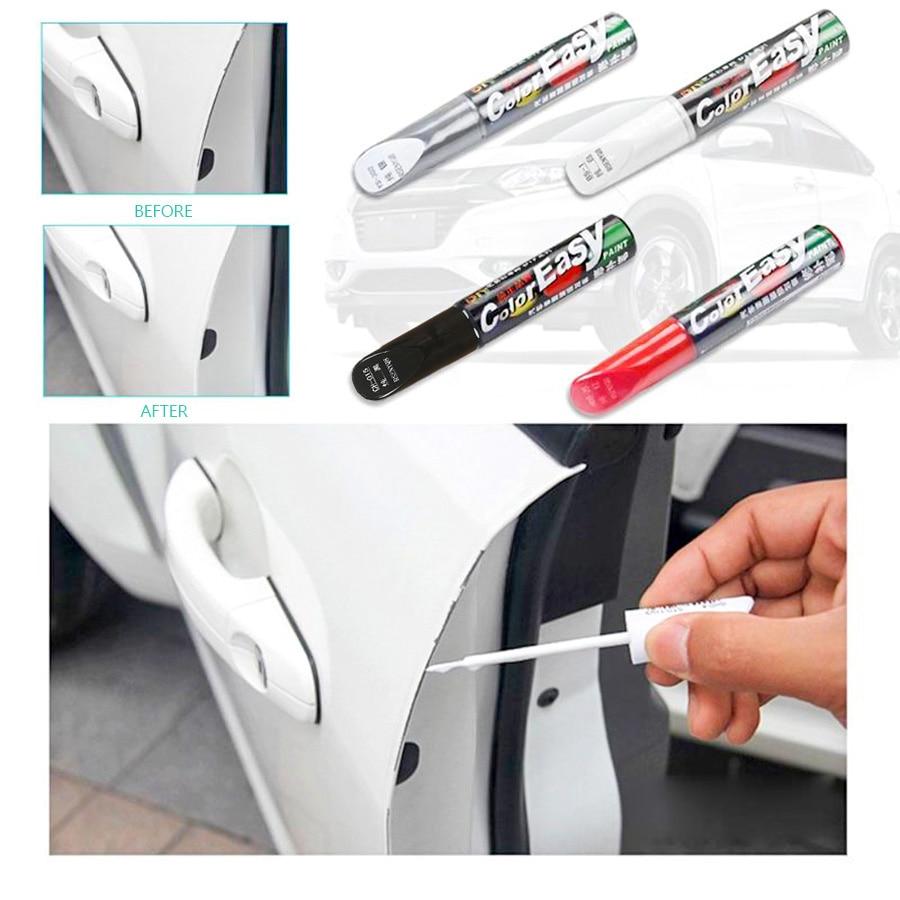 4 Styles Car Scratch Repair Agent Colorful Car Paint Repair Fix it Pro Auto Care Scratch Remover Auto Paint Pen Car Care Tools
