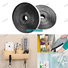 10M*2 Hook and Loop Fastener Tape, Self Adhesive Sticky Heavy Duty Tape Reusable Double Sided 20