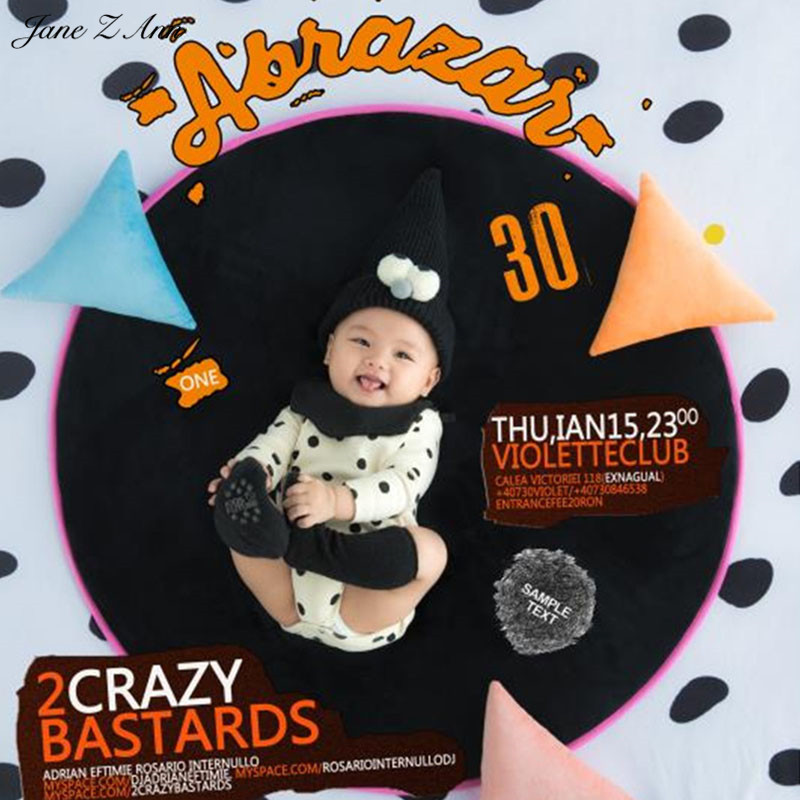 Jane Z Ann Baby Photography Props Naughty baby Theme Background Costume Clothes photo Accessories Infant Studio Shooting Props shengyongbao 300cm 200cm vinyl custom photography backdrops brick wall theme photo studio props photography background brw 12