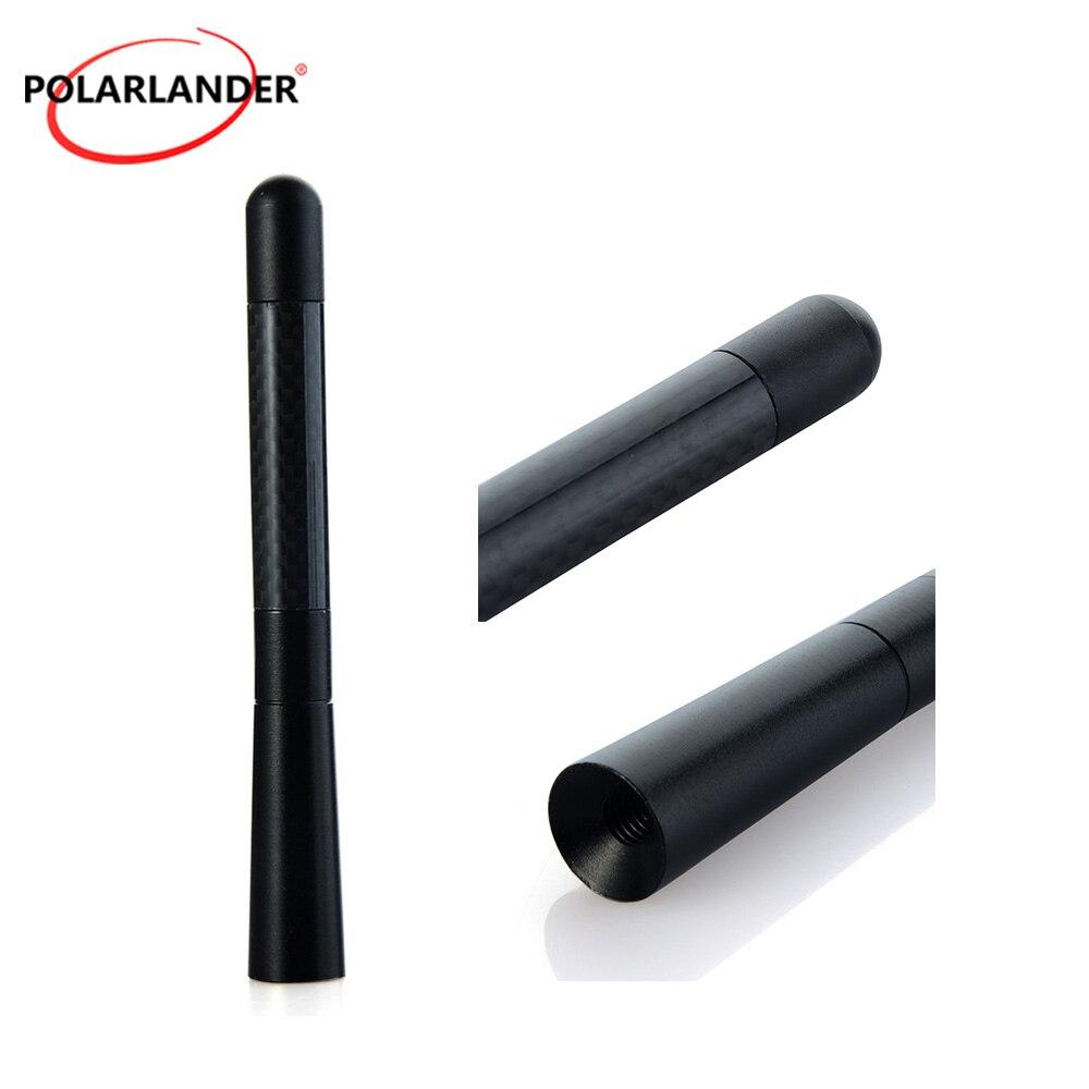 Carbon Fiber Short Radio Antenna for F/ord P/eugeot For C/itroen for V/W O/pel Astra For S/koda For T/oyota C/orolla Polarlander
