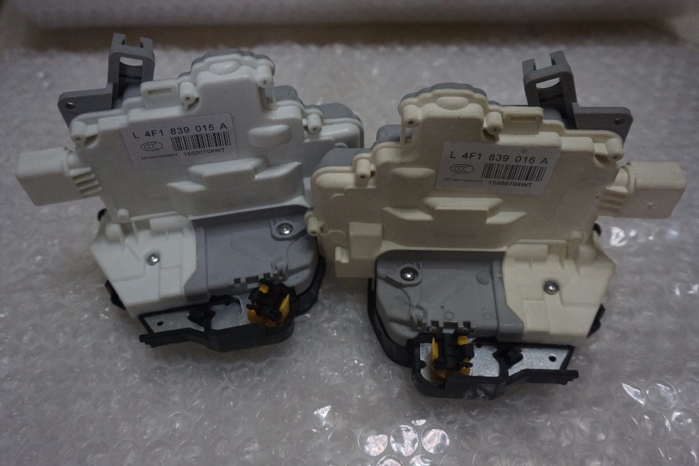 free shipping pair 2pc Rear right + left Door Lock Latch Actuator For AUDI A3 A6 C6 Allroad A8 4F0839016 4F0839016D/E/G